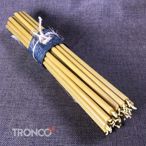 Свеча полувосковая желтая № 20 (кг)