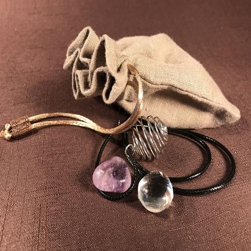 "Набор камней: ""Кристальная душа"""