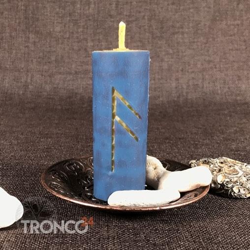 Свеча Помощь богов (Ансуз)
