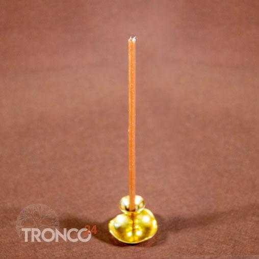 Свеча полувосковая Коричневая № 60 (кг)