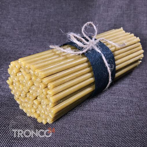 Свеча восковая желтая № 20 (кг)