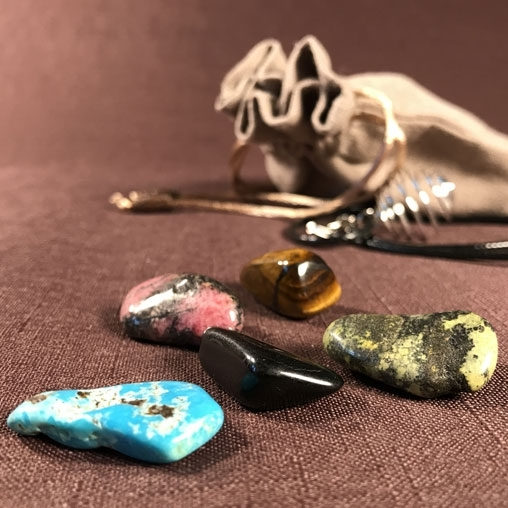 Набор камней: «Мешочек богатства»