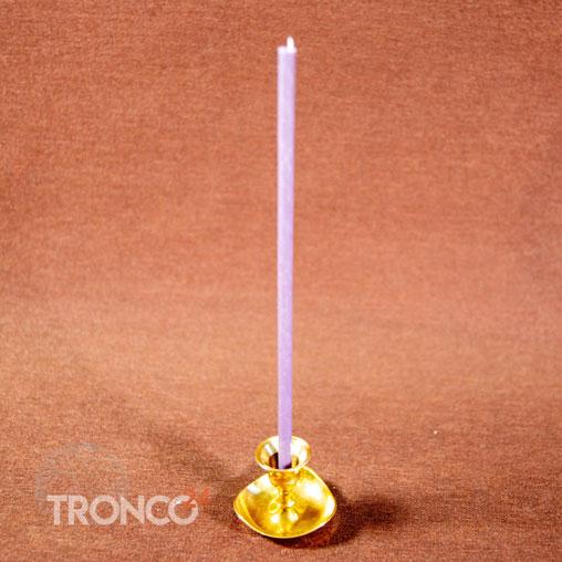 Свеча полувосковая Фиолетовая № 60 (кг)