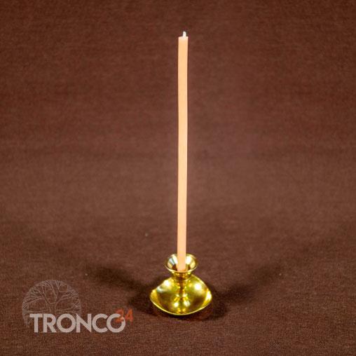Свеча полувосковая Розовая № 60