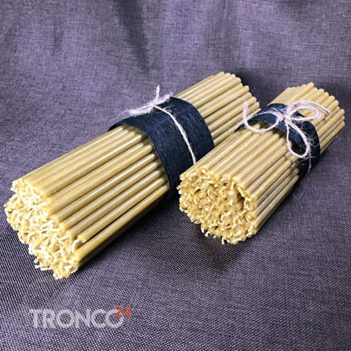 Свеча восковая желтая № 40 (кг)