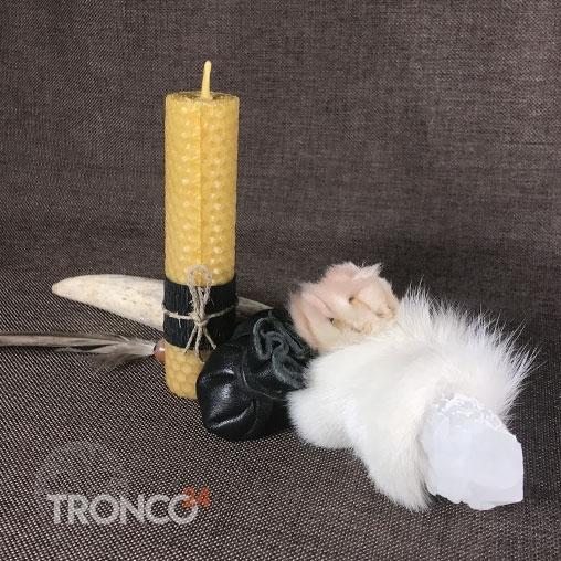 Свеча из вощины высота 13 см, диаметр 3 см