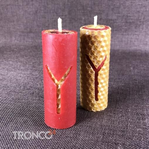 Свеча из вощины Чокыр Оленя
