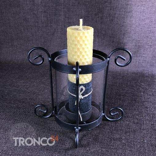 Свеча из вощины с Ромашкой